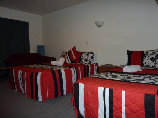 เบสท์วิลโล่ว์แบงค์ โมเต็ล: Double+Single beds, with lounge