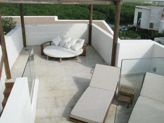 Rosewood Mayakoba: rooftop terrace