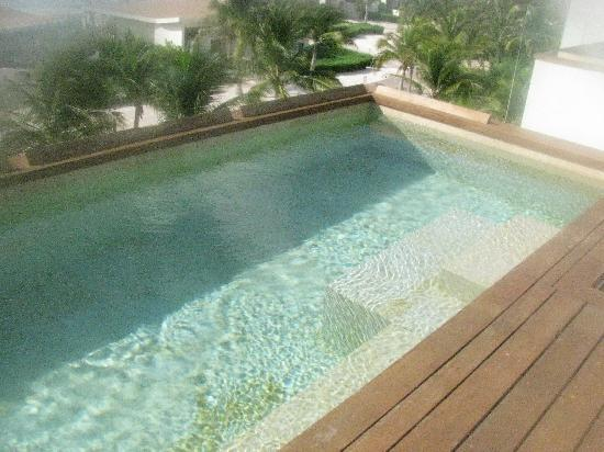 Rosewood Mayakoba: our rooftop plunge pool--all the rooms have them!