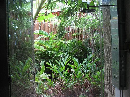 Rosewood Mayakoba: the shower at the spa--stunning!