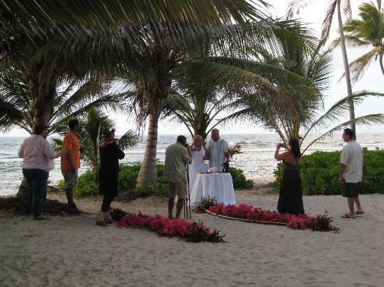 The Palms at Pelican Cove: Wedding on the beach