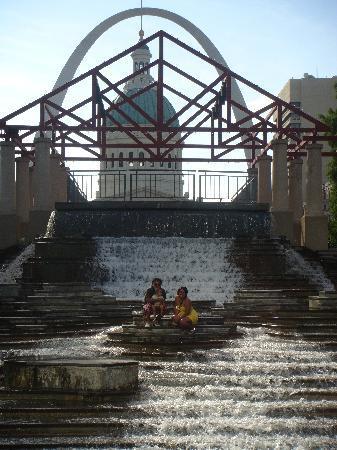 Saint Louis, มิสซูรี่: fountain
