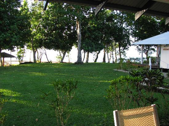 Island Magic Resort: the view from bungalow
