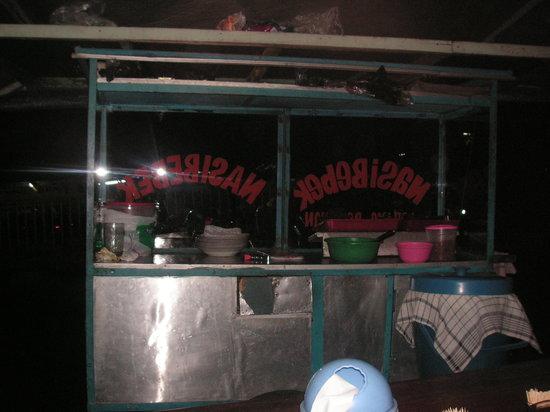 Kepiting Kenari: food cart