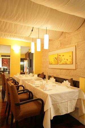 Il Tartufo: la sala principal del restaurante