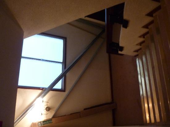 Hotel Principe de Asturias: Escalera de emergencia