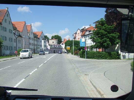 Hohenschwangau, เยอรมนี: バスからのロマンティック街道