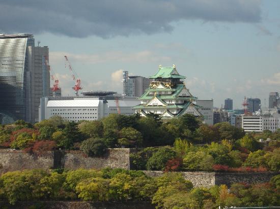 โรงแรมนิว โอตานิ โอซาก้า: 部屋から見た大阪城です