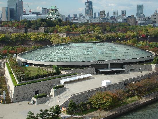 โรงแรมนิว โอตานิ โอซาก้า: 大阪城ホールと大阪城