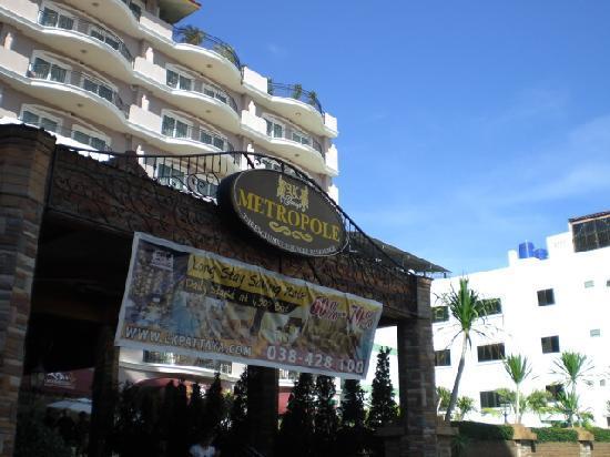 โรงแรมแอลเค เมโทรโปล: Entrance