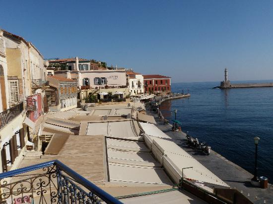 Hotel Nostos: Hotel views: Old Venetian Harbor