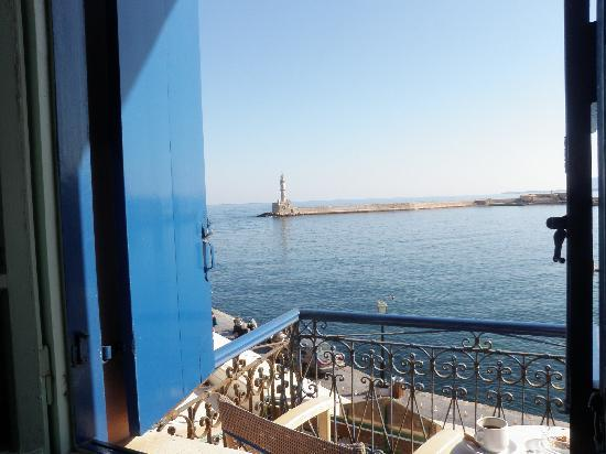 Hotel Nostos: Hotel views: Old Venetian Harbor