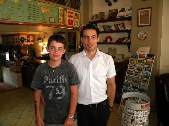 Historical Preferred Hotel Old City: With Hamza, member of the very friendly staff