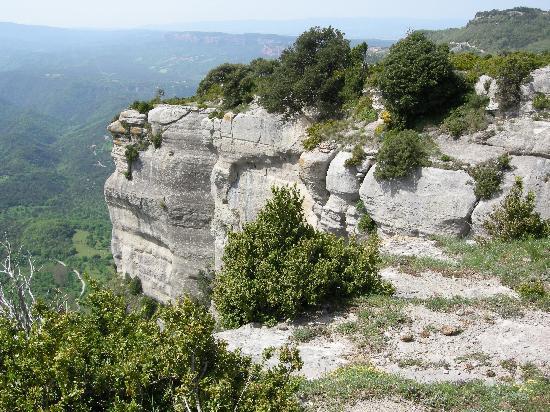 The cliffs between Tavertet and Rupit