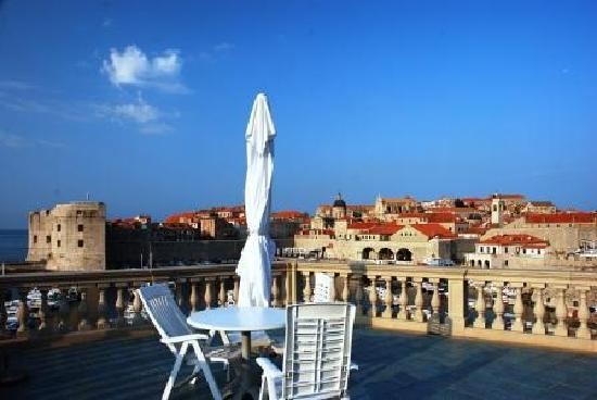 Villa Adriatica: テラスからの眺め