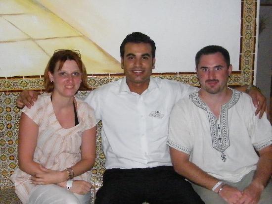 El Mouradi Club Selima: café maure de l hotel ( mohammed )