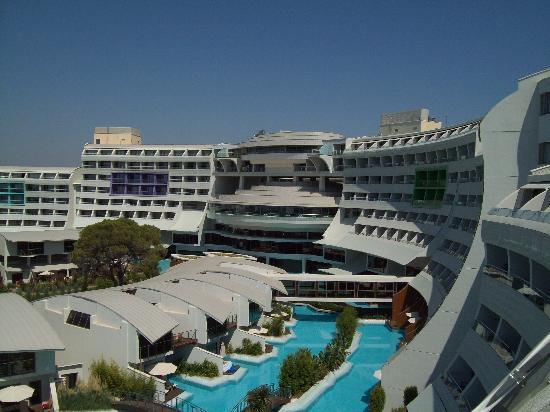 Cornelia Diamond Golf Resort & Spa: View from Room