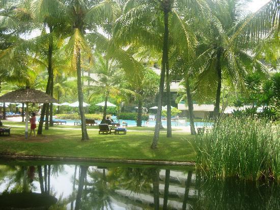 ฮิลตัน ภูเก็ต อาร์คาเดีย รีสอร์ท แอนด์ สปา: gardens and one of the various pools