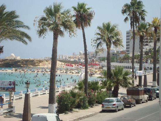 Houda Golf and Beach Club: plage de monastir