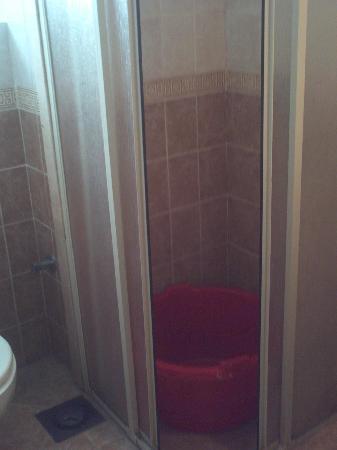 Gardenia Plaza Resort: wierd shower