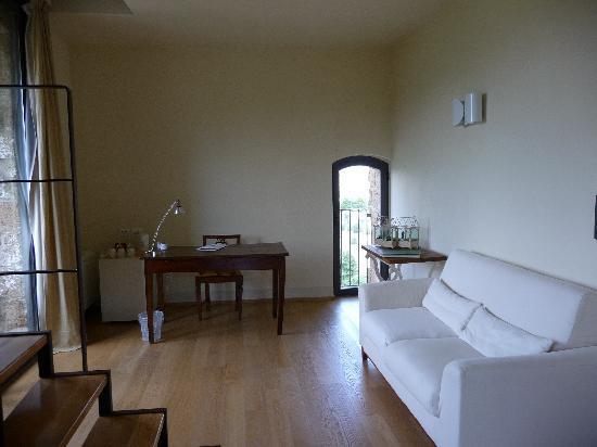 Locanda Palazzone: soggiorno
