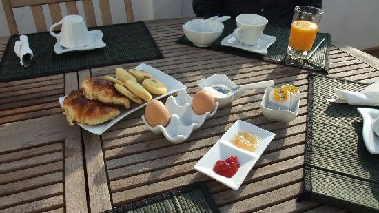 Ryad Lyon-Mogador: Le petit déjeuner