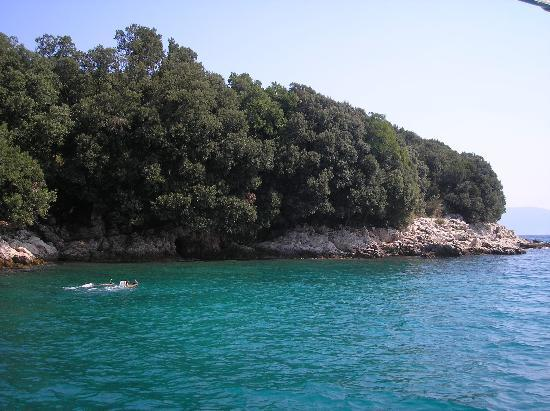 Adoral: Coast south of Rabac (from boat)