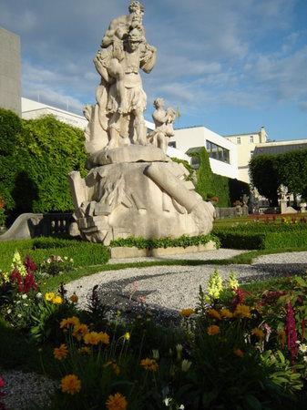 Salzburg, Austria: mirabell gardens 4