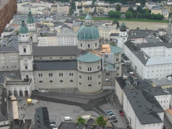 ซาลซ์บูร์ก, ออสเตรีย: sightseeing from the citadel 1