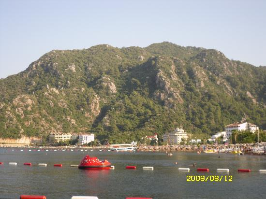 MARTI La Perla Marmaris: the veiw off the beach