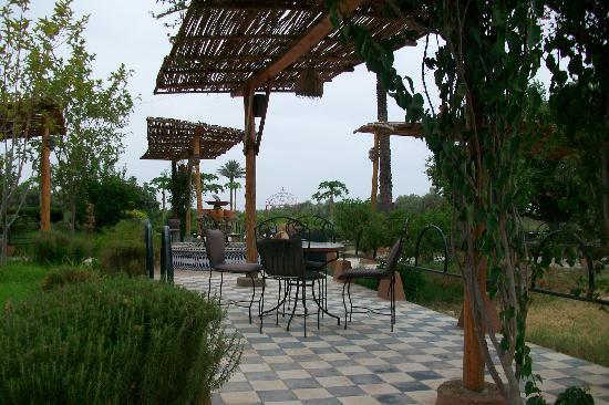 Riad El Aissi: La terrasse