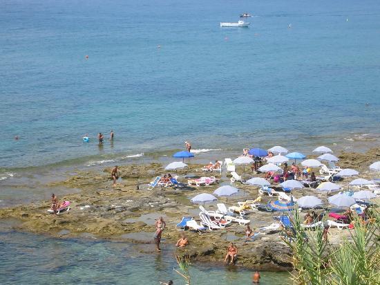 Albergo Miramare: spiaggia
