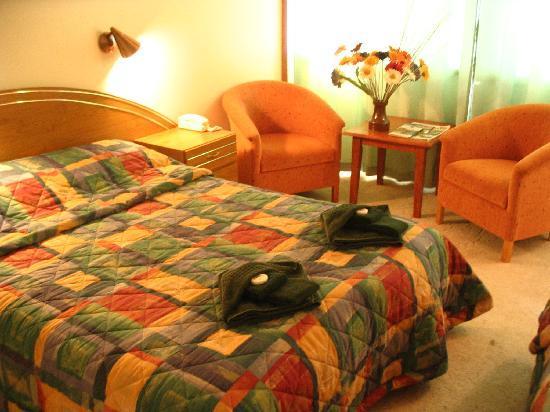 Poatina's Golden Chain motel rooms