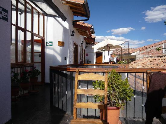 Casa San Blas Boutique: Terrace and view!