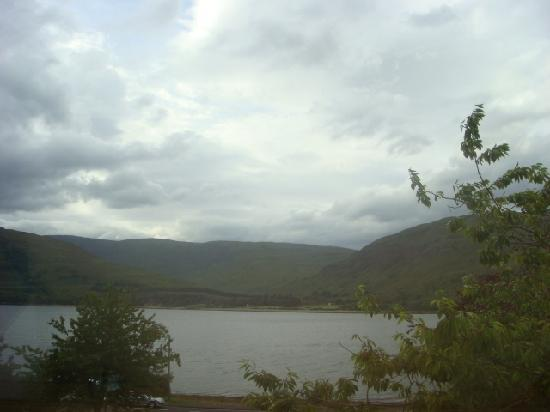 Huntingtower Lodge: View from Ardgour 1 (overcast)