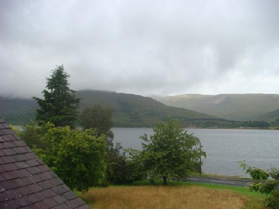 Huntingtower Lodge: View from Ardgour 2 (overcast)