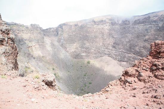 Vesuvio: Il cratere