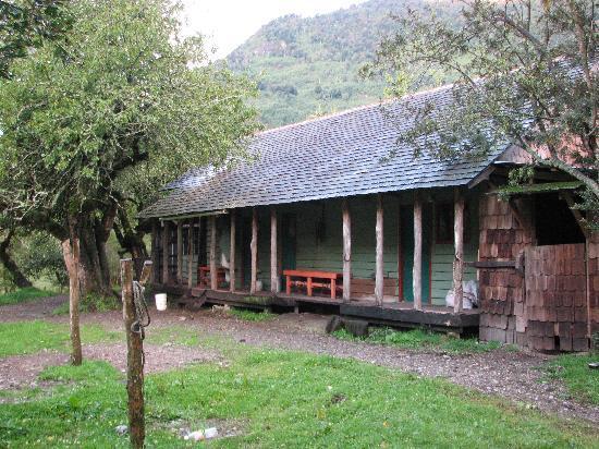 Campo Aventura Cochamó: The Dining room