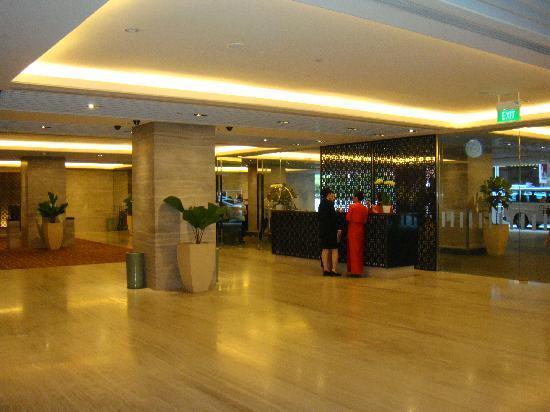 โรงแรมแมนดาริน ออร์ชาร์ด: Entrance off Orchis Link
