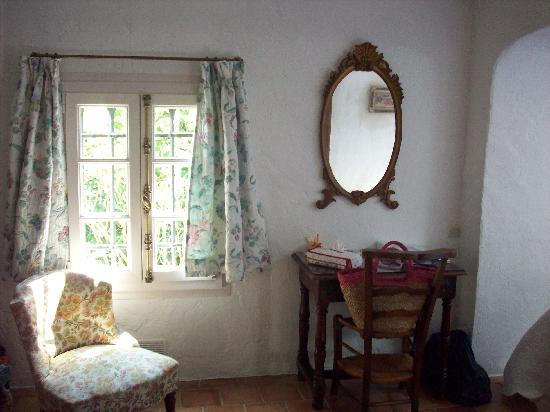 Le Hameau: interno della stanza