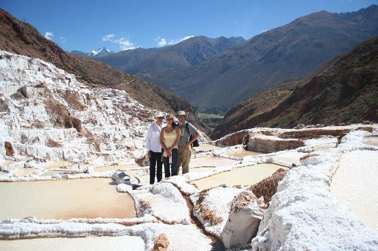 Cusco for You Salineras Ranch: The salt pools at Maras