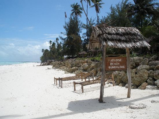 Kinazi Upepo Hotel: playa paradisíaca