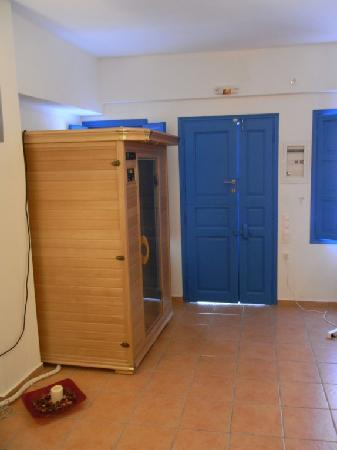 Delfini: Traditional cave house SUITE- Sauna