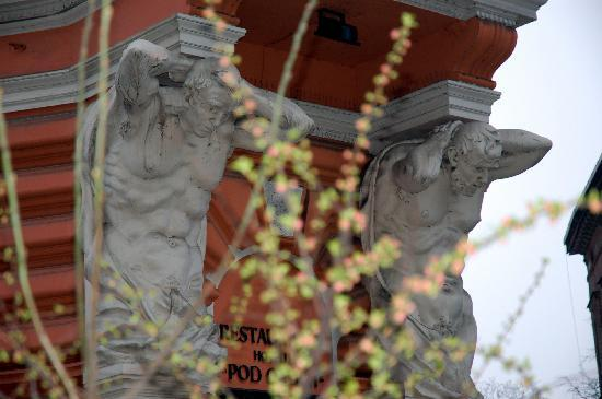 Hotel Pod Orlem: Blick auf die Ecke