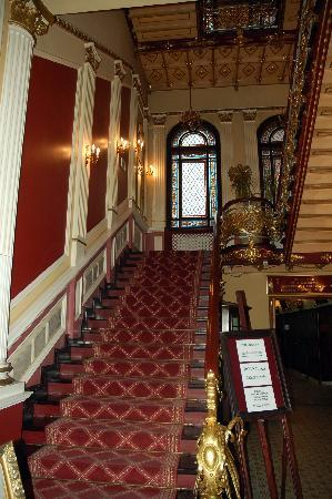 Hotel Pod Orlem: Treppenaufgang