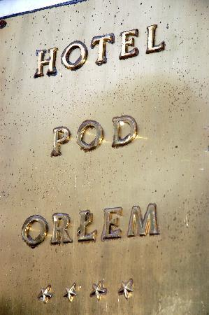 Hotel Pod Orlem: So steht man davor