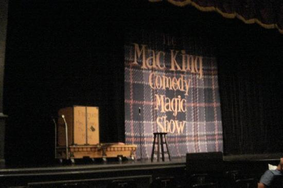 Mac King Comedy Magic Show: Mac King Stage