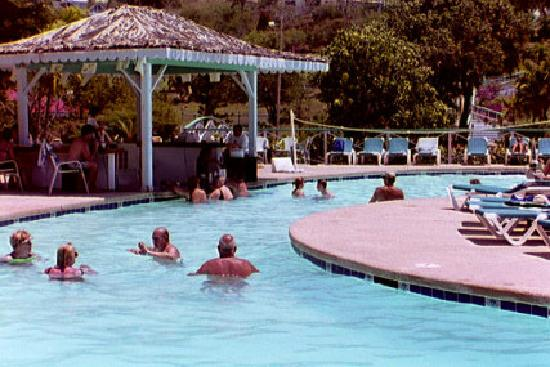 Bluebeard's Beach Club and Villas: Pool with swim-up bar