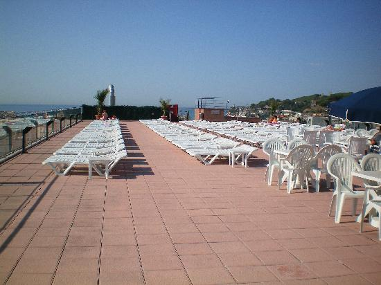 H·TOP Calella Palace & SPA: Roof terrace