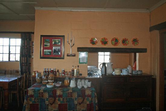 Sani Mountain Lodge: im Pub